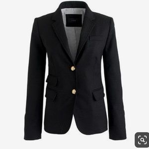 J. Crew school boy blazer black size 2